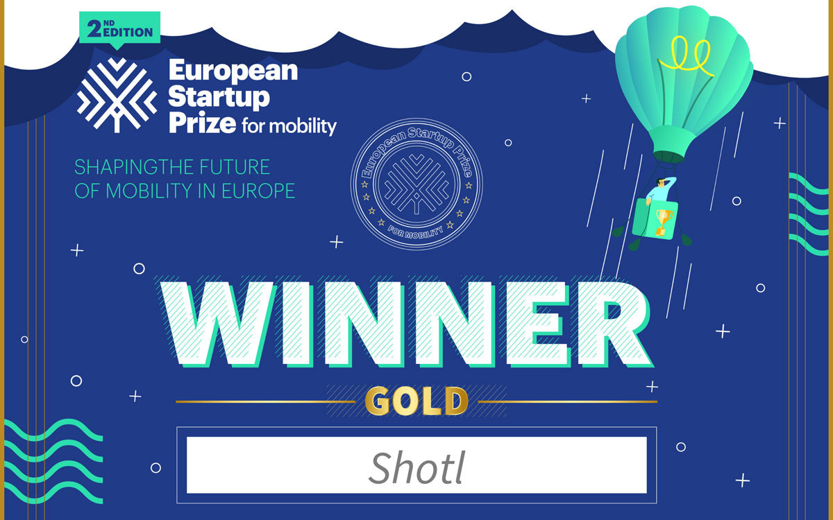Shotl Win Gold Award at leading European Mobility Prize Ceremony